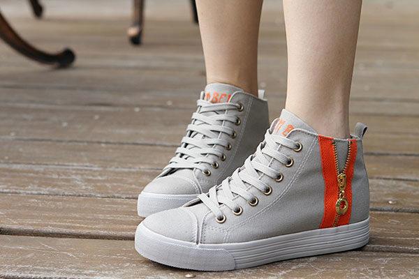 leg sneakers